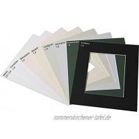 ASP-Galeriebedarf Fertig-Passepartout 50 x 70 cm für Bildformat 30 x 45 cm Farbe: Weiß gedeckt 2,0 mm