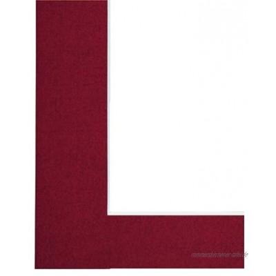 Hama Premium Passepartout Ziegelrot 30 x 40 cm