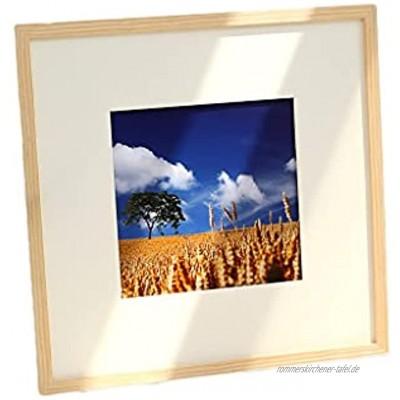 Bilderrahmen Massivholz-Fotorahmen Wandmontierter Rahmeneinstellung montiert 24 Zoll 40,5 * 60,5 cm Bilderrahmen Foto Wanddekoration Rahmen Dekoration Color : A