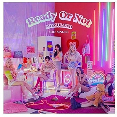 Momoland Ready or Not 3rd Single Album CD + 1p Poster + 76p Photobook + 1p Photocard + Message Photocard + Tracking Kpop Sealed