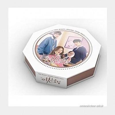 True Beauty OST Koreanische TV-Show Kdrama O.S.T 2 CDs + 1 Poster + 56 Seiten Lyrics & Fotobuch + 9 Seiten Polaroid + Nachrichten-Fotokarten-Set + Tracking Kpop Sealed