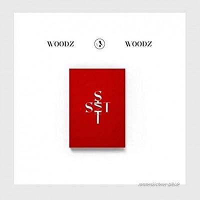 Woodz Set 1. Einzelalbum 1 Version CD + 84p Booklet + 1p Post + 2p Photocard + Message Photocard Set + Tracking Kpop Sealed
