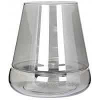Kaheku Windlicht Ebro lüster Rauch Ø 27 cm Höhe 30 cm bemaltes Glas 99990427