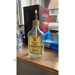NKlaus 1m Glasfaserdocht rund Ø 8mm für Schmelzlicht Spirituslampe Öllampe für gereinigtes Lampenöl Paraffinöl Dauerdocht Gartenfackel Petroleumlampe 1250