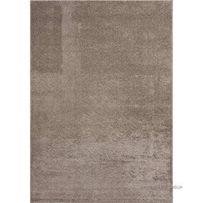 """Mia´s Teppiche """"Emma"""" Wohnzimmer Teppich Kurzflor 80x150 cm Beige"""