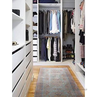 benuta Teppich Läufer Visconti Türkis 70x240 cm   Moderner Teppich für Wohn- und Schlafzimmer