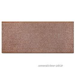 Primaflor Ideen in Textil Schmutzfang-Teppich-Läufer Meterware Malaga – Beige 0,66m x 3,00m Rutschfester Küchenläufer Robuste Sauberlauf-Matte
