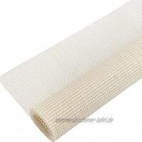 BBVS Rugs & Stuff Rug Anti-Rutsch-Teppich-Gripper-Unterlage für Hartböden Langlebige Anti-Rutsch-Unterlage für Teppiche und Vorleger einfach zuzuschneiden erforderlich 60cmx100cm
