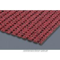 AKO Sicherheits-Stufenmatte Rutschfest 30 x 73 cm R13- Made in Germany Rot 1 Stück