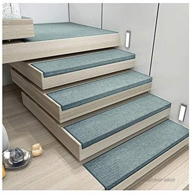 BUYAOBIAOXL Stufenmatten Treppenmatten Stufenmatte Treppen-Teppich Rechteck Einfarbig Selbstklebend Kurzer Flaum rutschfest 4 Farben 5 Größen Color : C- 30X140CM Size : 5pcs