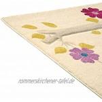 Benuta Kinderteppich Die kleine Eule Pink 140x200 cm   Teppich für Spiel- und Kinderzimmer