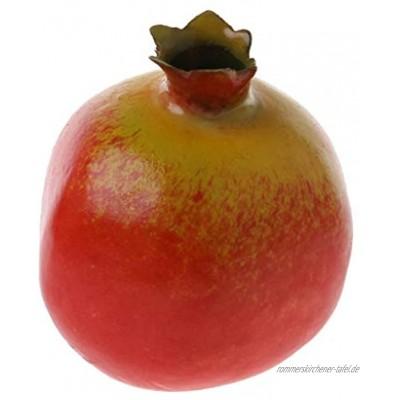 Cold Toy Granatapfel Deko Kunstobst Kunstgemüse künstliches Obst Gemüse Dekoration