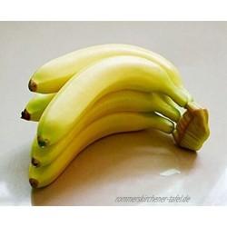 Musuntas 5PCS banane Kunstobst Obst Dekoobst Deko künstliches Obst