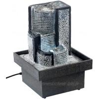 """infactory Zimmerbrunnen """"Felsenquelle"""" mit Pumpe und LED"""