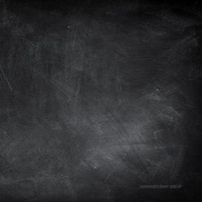 Eurographics Blackboard 50x50 Magnettafel Glas schwarz 50 x 50 x 2 cm