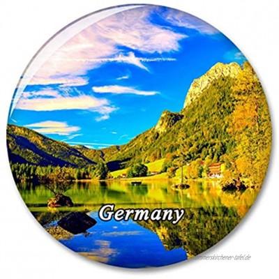 Deutschland Bayern Berchtesgadener Land Kühlschrankmagnet Dekorativer Magnet Touristische Stadt Reise Souvenir Sammlung Geschenk Starker Kühlschrank Aufkleber