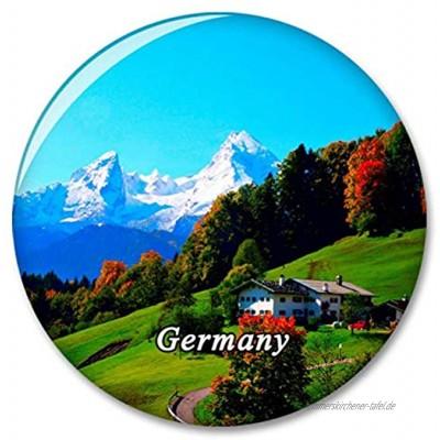 Deutschland Berchtesgaden Bayern Watzmann Kühlschrank Magnete Dekorative Magnet Flaschenöffner Tourist City Travel Souvenir Collection Geschenk Starker Kühlschrank Aufkleber
