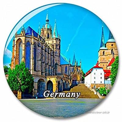 Deutschland Erfurt Dom Kühlschrank Magnete Dekorative Magnet Flaschenöffner Tourist City Travel Souvenir Collection Geschenk Starker Kühlschrank Aufkleber