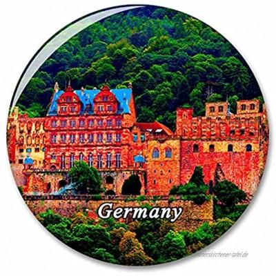 Deutschland Heidelberg Kühlschrank Magnete Dekorative Magnet Flaschenöffner Tourist City Travel Souvenir Collection Geschenk Starker Kühlschrank Aufkleber