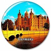 Deutschland Schwerin Castle Kühlschrank Magnete Dekorative Magnet Flaschenöffner Tourist City Travel Souvenir Collection Geschenk Starker Kühlschrank Aufkleber