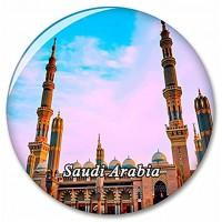 Saudi-Arabien Kühlschrank Magnete Dekorative Magnet Flaschenöffner Tourist City Travel Souvenir Collection Geschenk Starker Kühlschrank Aufkleber