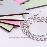 KLEINLAUT Origami Deko-Wimpel mit Wunschname fürs Kinderzimmer Wähle EIN Motiv Farbe & Wunschtext Fuchs Pink