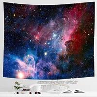 Alumuk Sternenhimmel Tapisserie 3D Kosmische Galaxie Wandteppich Psychedelic Wandbehang Boho Mandala Hippie Wandtuch Tagesdecke Bettdecke für Schlafzimmer Wohnzimmer Wohnheim 180 x 230 cm