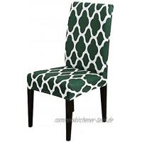 Elastischer Stuhlbezug Geeignet für Hochzeit Restaurant Büro Bankettstuhlbezug Haushaltsküchenstuhlbezug A13 2 Stück