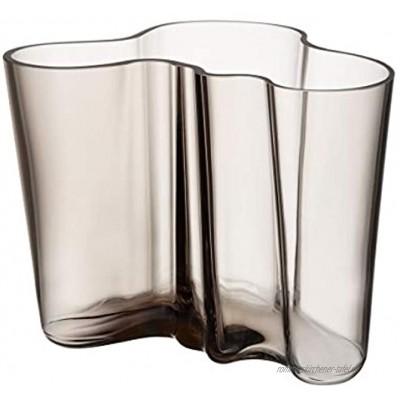 Iittala Alvar Aalto collection Vase 160 mm leinen