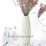 SUPVOX Blumenvasen weiß dekorativ modern Blumenvase für Zuhause Wohnzimmer Tafelaufsätze und Events Ornamente