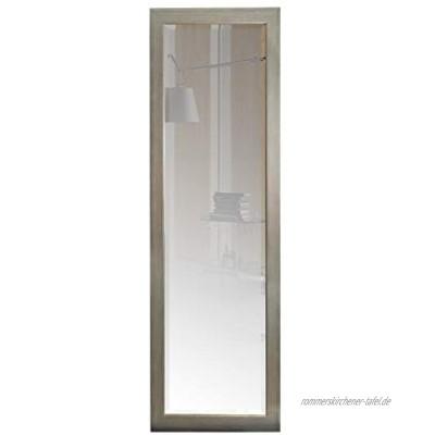 BD ART Wandspiegel Silber Antik Holzrahmen 46 x 136 cm zeitlos eleganter Barock Rahmen