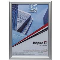 Hampton Frames SNAPA3S Bilderrahmen für Poster Zertifikate Fotorahmen A3 30 x 42 cm silberfarben