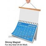 Magnetisch Posterschiene Posterleisten 42cm Magnetisch Bilderrahmen Posterrahmen A3 A2 Posterleiste Holz für Bilder Poster Poster Aufhängen Halter Rahmen Leisten für Bild 40x60 40x50 30x40