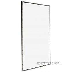 yd. Your Decoration 30x42 cm Bilderrahmen von Kunststoff mit Acrylglas Ausgezeichneter Qualität Silber Antik Antireflex Fotorahmen Evry.